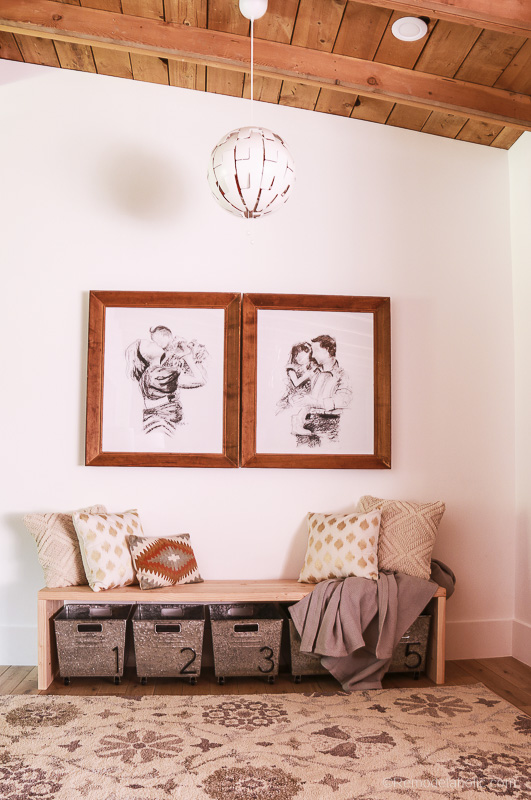 Creating a mudroom bench @remodelaholic (1 of 1)