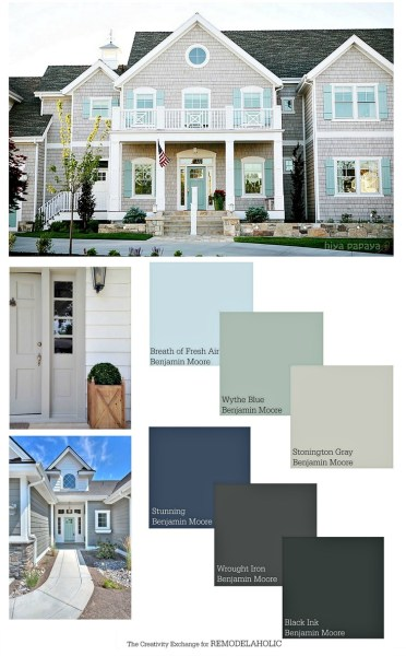 Remodelaholic best paint colors and tips from 2016 - Popular exterior house paint colors 2016 ...