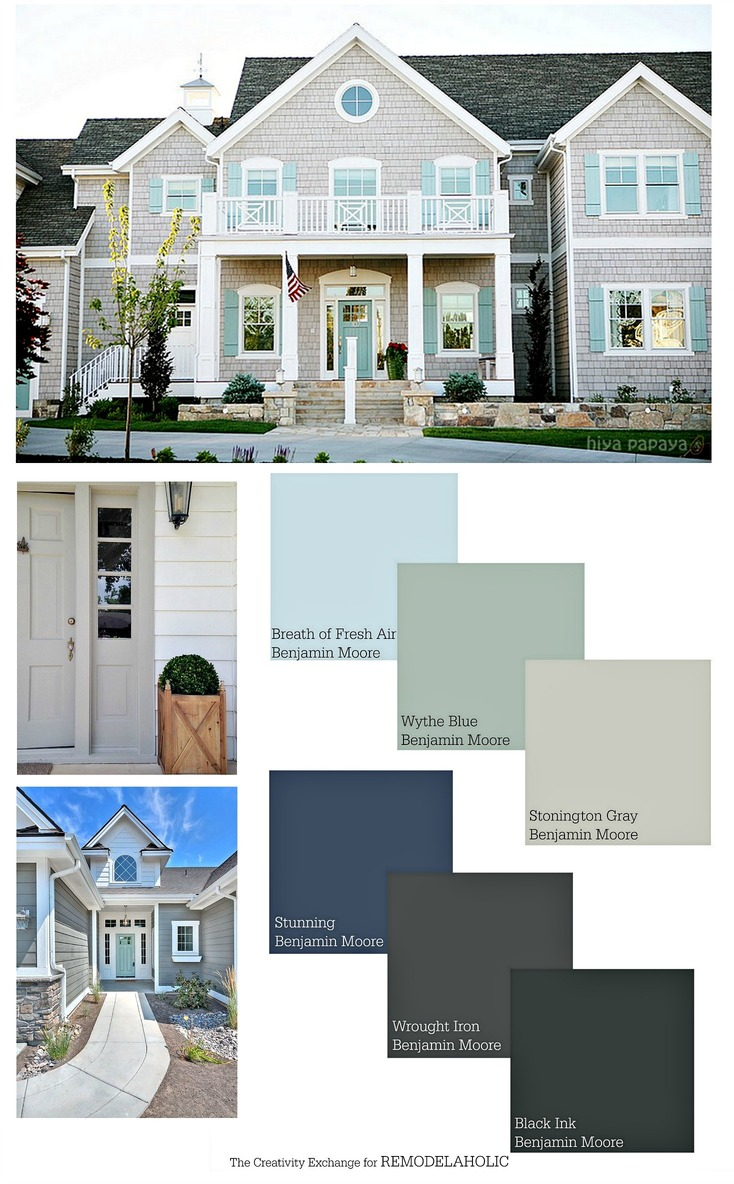 Attrayant You Can Add Major Curb Appeal By Repainting Your Home    But What Colors?