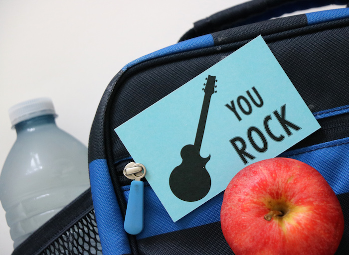 FREE back to school printables for your kids lunchboxes! Get the free PDF at Remodelaholic.com