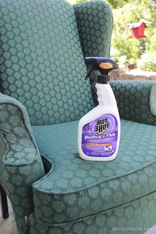 How to prep a used chair for refinishing @remodelaholic-1