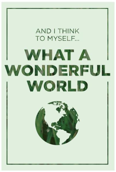 Wonderful World Printable • AD Aesthetic for Remodelaholic