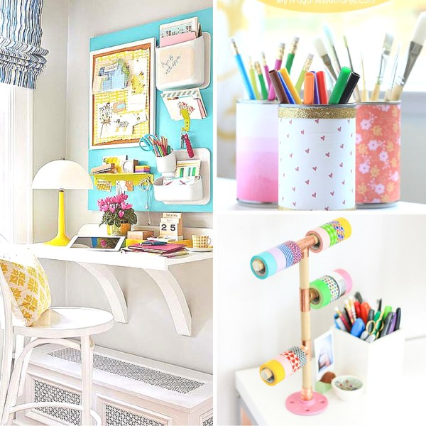 Time to get a little bit of decor for the fall and back to school season! Get in the mood for school with these beautiful back to school decor ideas. 25 ways to decorate for back to school via @remodelaholic