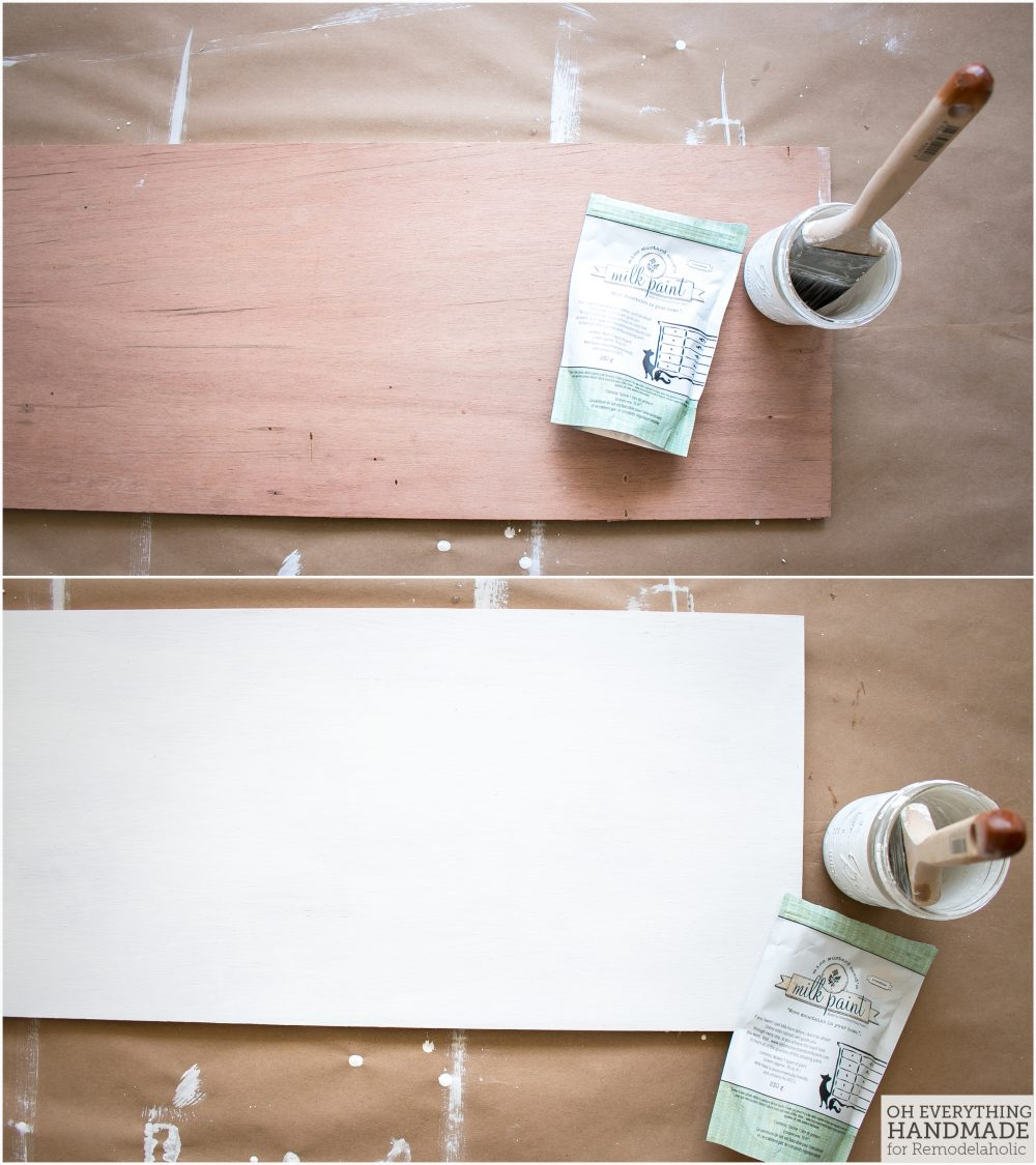 Coffee Bar Sign via OhEverythingHandmade - prepare the playwood