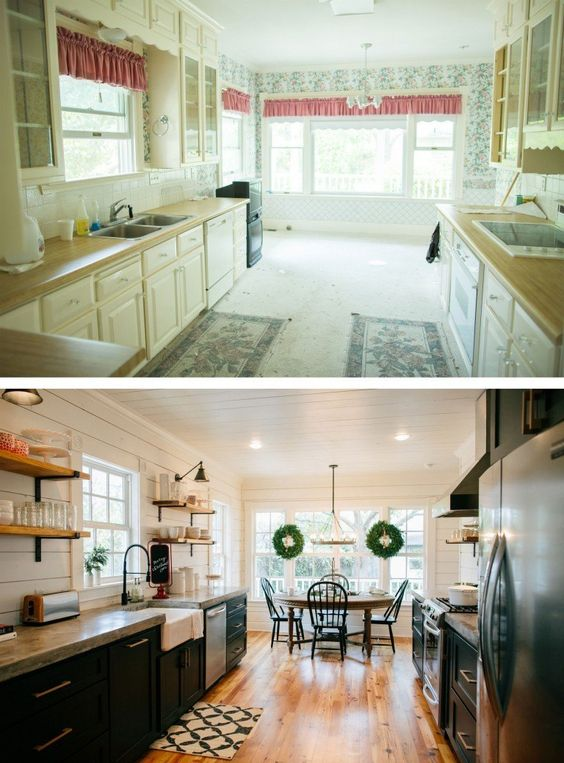 Love the look of the kitchens on Fixer Upper? Get the look in your own home with these 6 Design Elements of a Fixer Upper Kitchen featured on Remodelaholic.com Fixer Upper Kitchen - Season 3, Magnolia House
