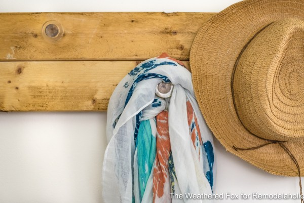 The Weathered Fox Farmhouse Wall Rack DIY