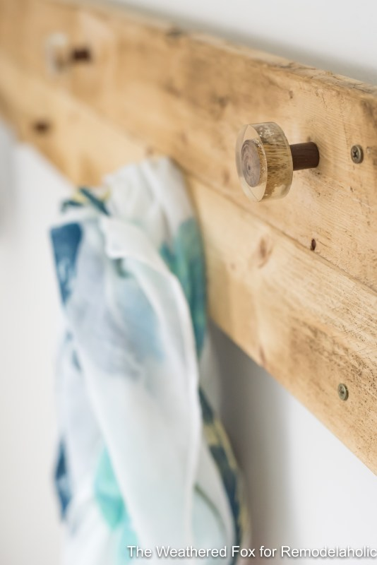 The Weathered Fox Farmhouse Wall Rack Tutorial
