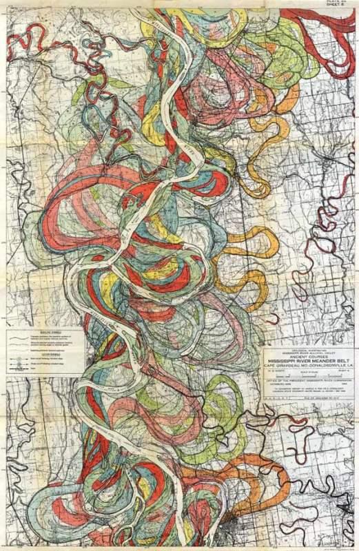 Vintage Maps 29 b