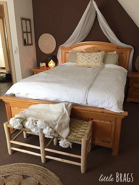 boho-moroccan bedroom, Little Brags