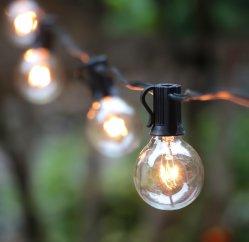 outdoor string lights, globe 25ft