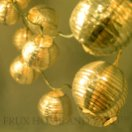 outdoor string lights, gold