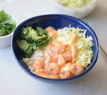 Spicy Shrimp Bowl