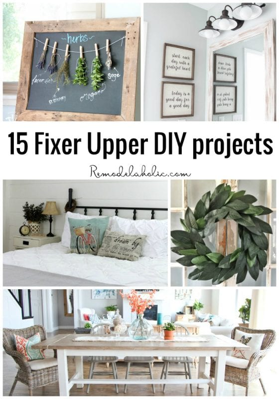 15 Fixer Upper DIY Projects Remodelaholic Bloglovin