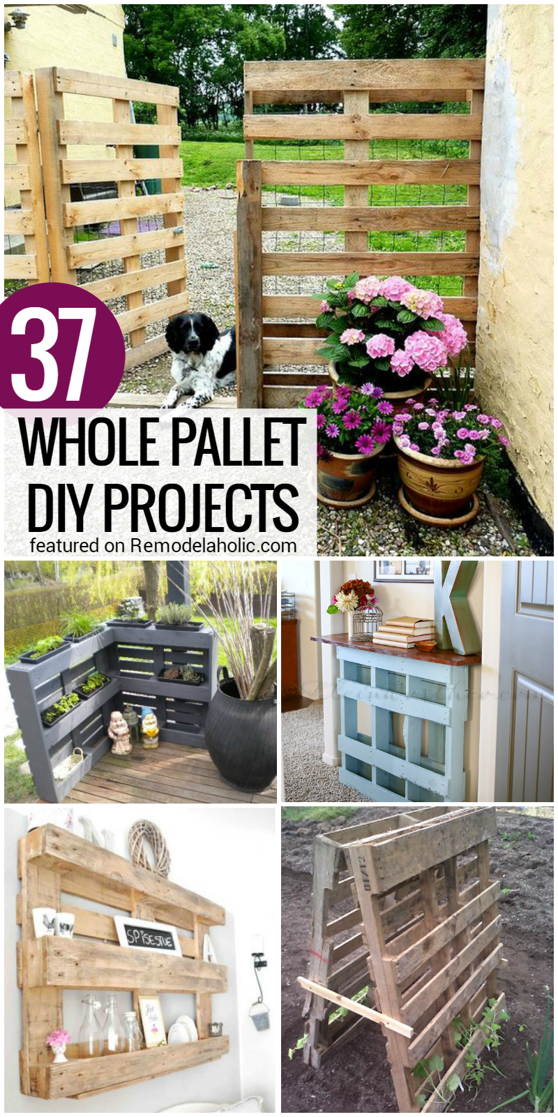 37-whole-pallet-projects-no-disembly-required-@Remodelaholic Pallet Playhouse Plans Design on pallet swings plans, pallet furniture ideas, pallet lamp plans, pallet wood, pallet sandbox plans, pallet storage plans, pallet kitchen plans, pallet boat plans, pallet bench plans, pallet wine rack ideas, pallet building plans, pallet house, shed plans, pallet projects, pallet shelter plans, indoor loft plans, pallet gazebo plans, pallet shed, pallet workshop plans, pallet pool plans,