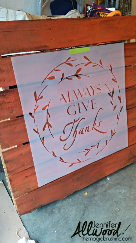 stencil-and-pallet-porch-decor-by-the-magic-paintbrush-inc-featured-on-remodelaholic