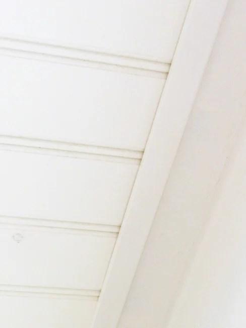 DIY Beadboard Ceiling Trim