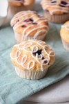 Jam Stuffed Muffins