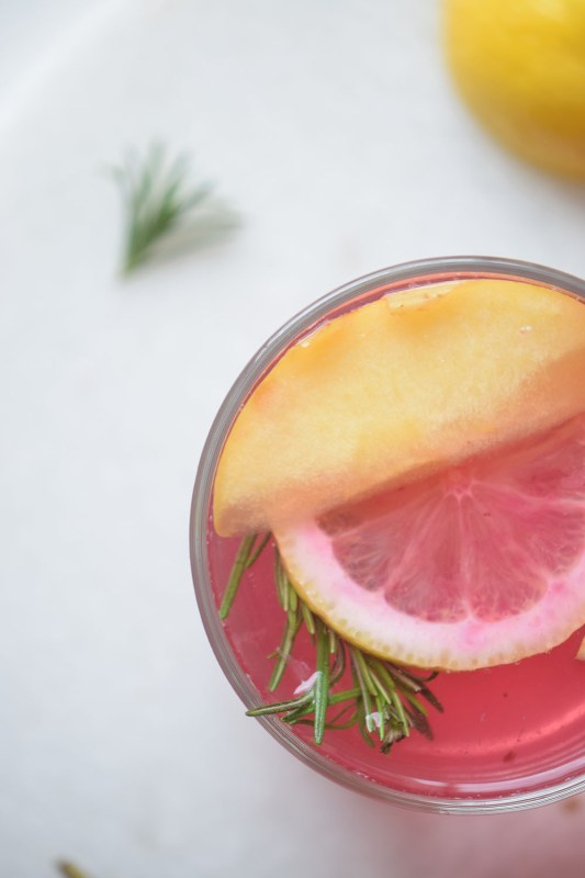 Warm up with a glass of cider, but not just any cider this Honeycrisp Cranberry Cider at remodelaholic.com