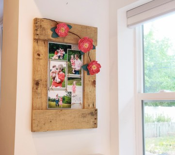 Pallet Wood Memo Board