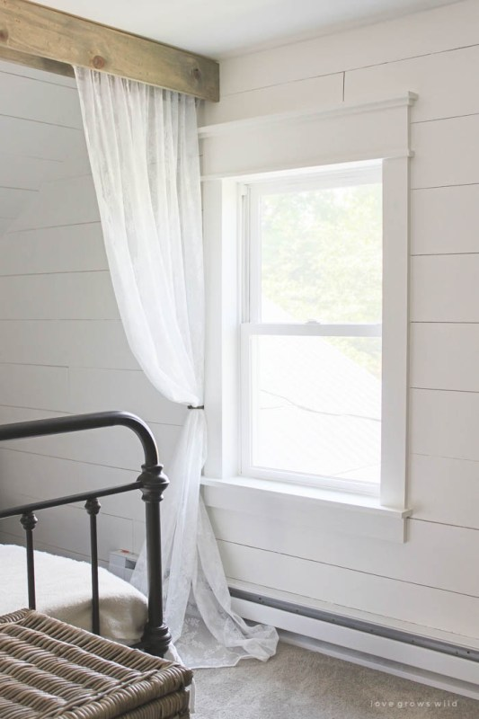 Fixer Upper DIY Farmhouse Window Trim_Love Grows Wild