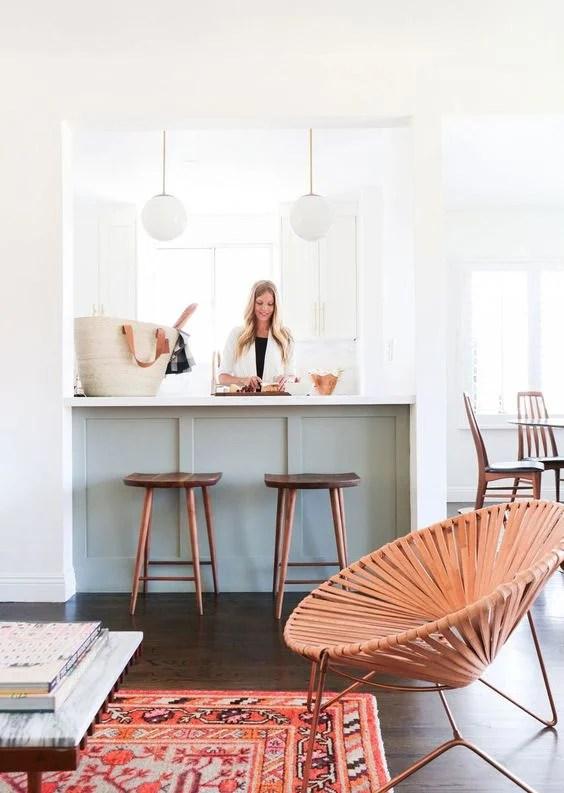 Mint and Copper Kitchen Inspiration | Image Source: Lonny Design: Sarah Sherman Samuel, Smitten Studio Photo Credit: Tessa Neustadt
