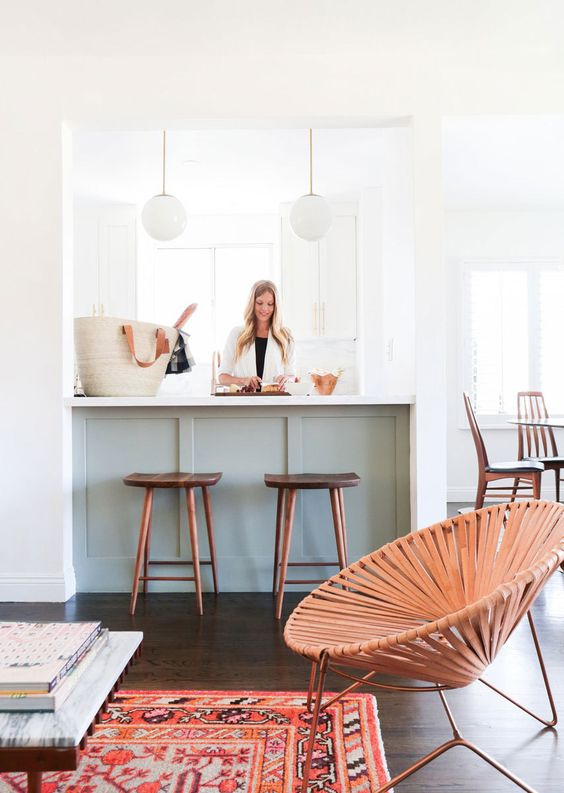 Mint and Copper Kitchen Inspiration | Image Source: Lonny Design: Sarah Sherman Samuel, Smitten Studio Photo Credit: Tessa Neustadt