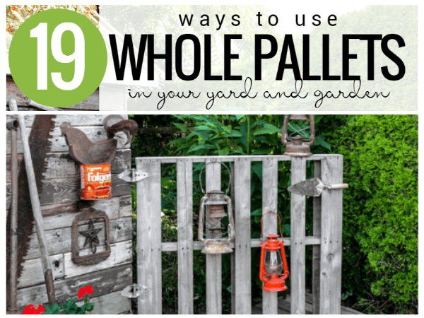 Whole Pallet Projects For Your Garden Yard And Garage