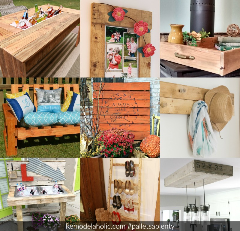 pallets aplenty diy pallet projects and tutorial remodelaholic Remodelaholic Pallets Aplenty 9 Creative