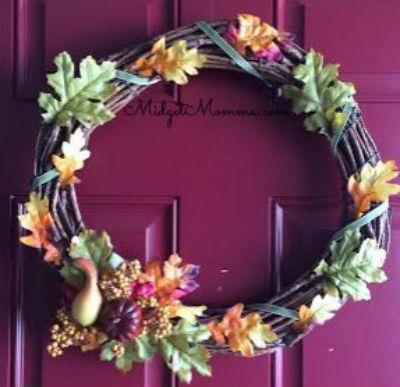15 DIY Fall Wreaths Midget Momma 2 Remodelaholic