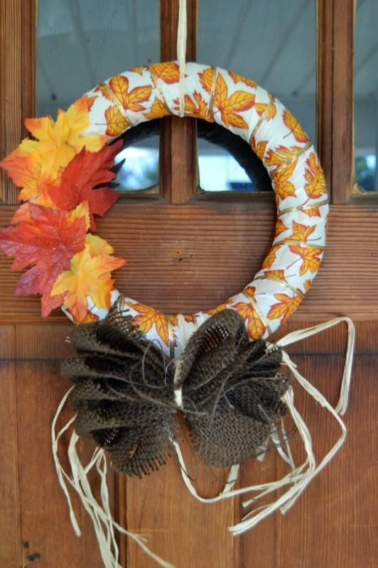 15 DIY Fall Wreaths Horeshoes N Handgrenades Remodelaholic