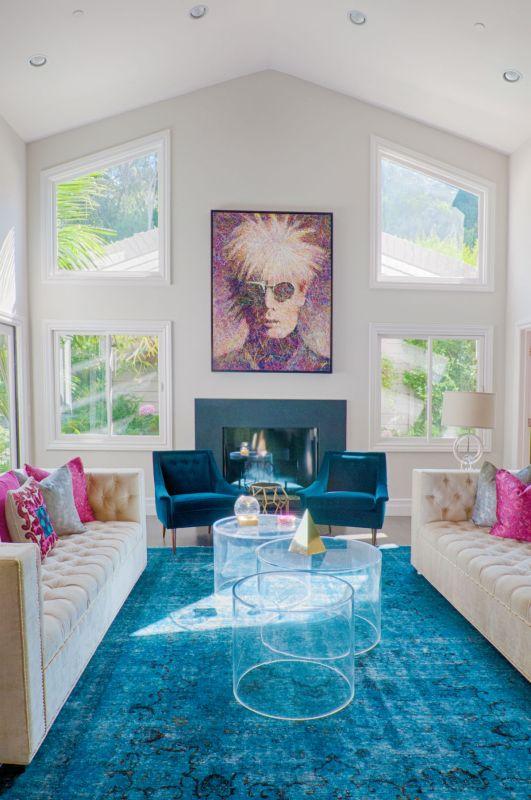 Behind The Scenes With Interior Designer Lara Fishman Transitional Color 1 Remodelaholic