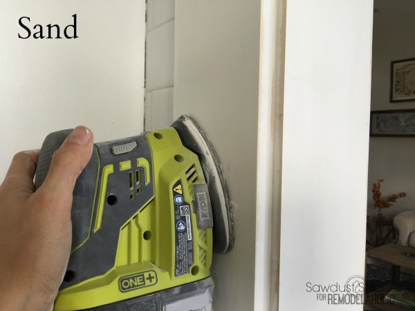 Casing An Entry By Sawdust2Stitches For Remodelaholic.com