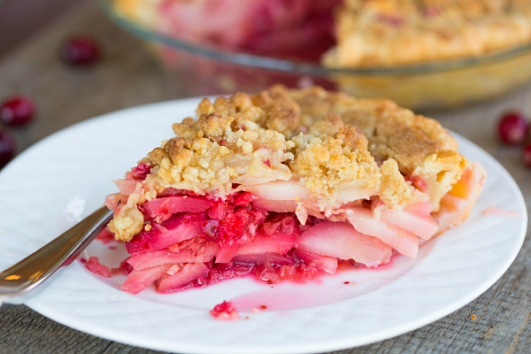 Cranberry Ginger Pear Pie Brown Eyed Baker