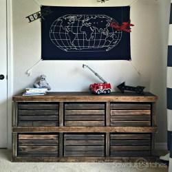 Crate Dresser By Sawdust2stitches