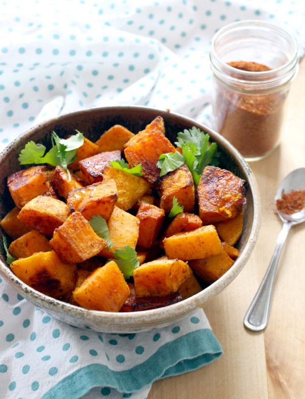 Moroccan Spice Roasted Butternut Squash Bowl Of Delicious