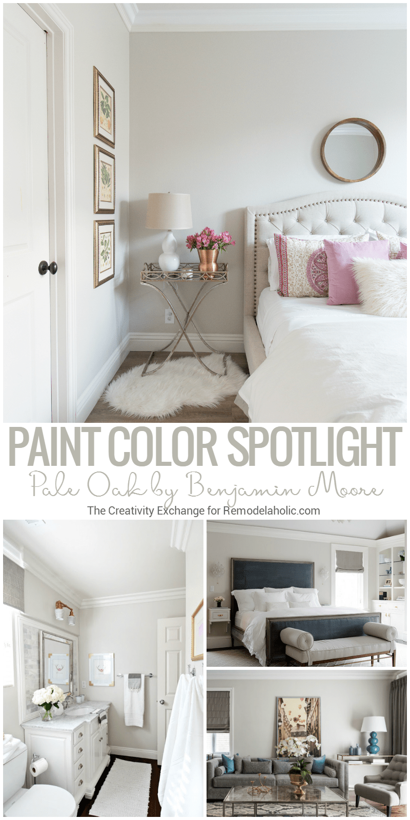 Remodelaholic | Color Spotlight: Benjamin Moore Pale Oak