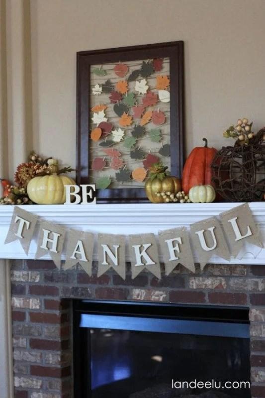 Thanksgiving Mantel From Landeelu E1384493265563