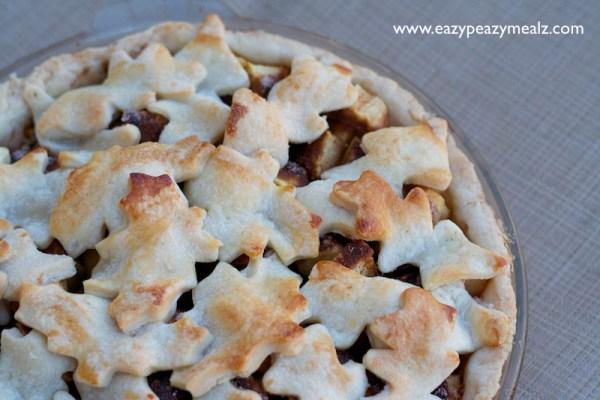 Apple Pie With Leaf Crust Eazy Peazy Mealz
