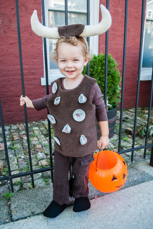 Easy Diy Halloween Costume For Toddlers Bull In A China Sho