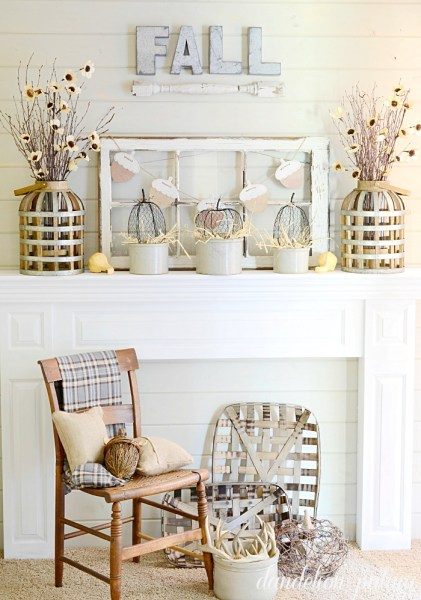 Fall Neutral Mantel