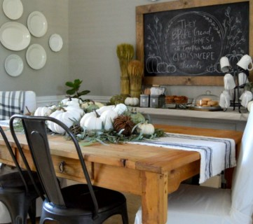 One Dining Room: Three Different Ways