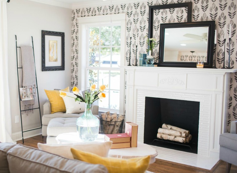 Remodelaholic | Get This Look: Contemporary Farmhouse Living