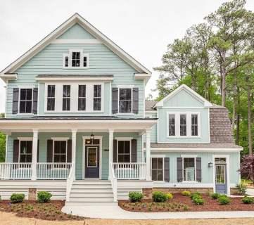 Open Plan Farmhouse Via Architectural Designs Feat