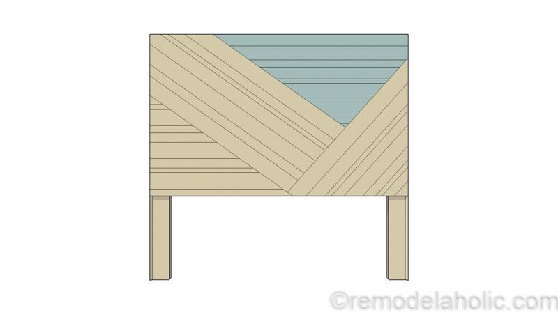 Rustic Pieced Wood Headboard 13 1