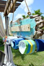 Driftwood Beach Towel Holder