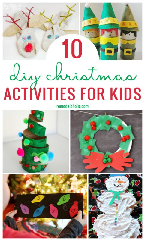 Remodelaholic 10 Diy Christmas Activities For Kids