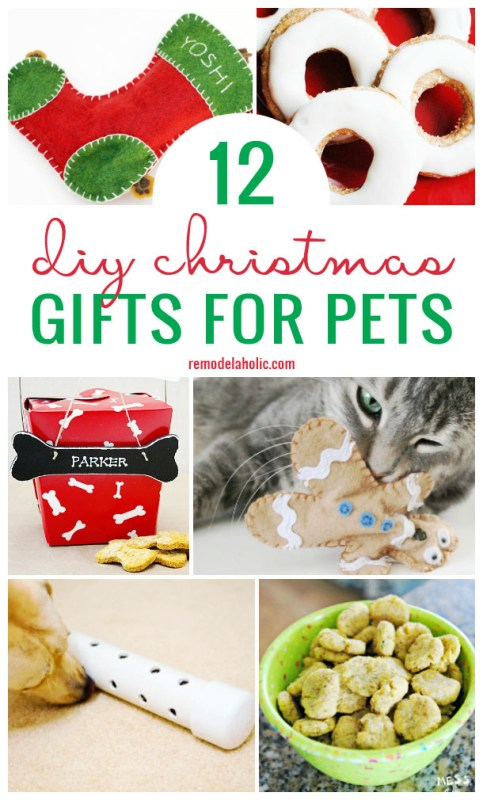 12 Diy Christmas Gifts For Pets