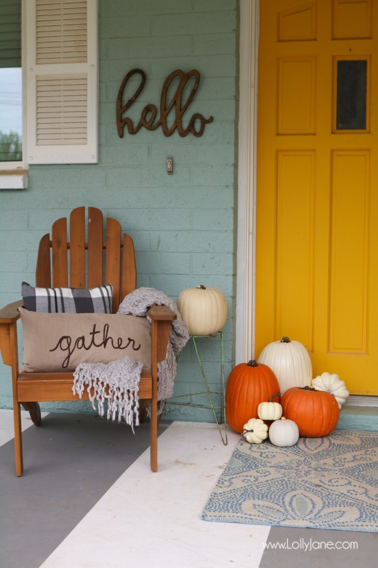 Easy Fall Porch Decorating Ideas