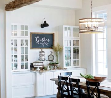 Modern Farmhouse Home Tour Household No 6 Via Fox Hollow Cottage