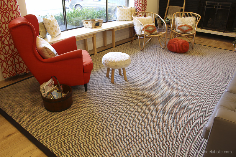 Shaw Cut A Rug Program Have A Carpet Cut To The Size You Need And Edges Bound Remodelaholic 5 Of 9